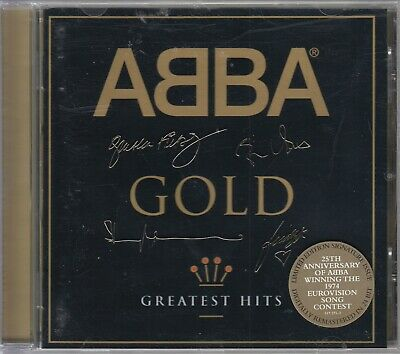 ABBA - Greatest Hits / Limited Gold Signature Edition - CD 1999