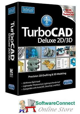 Imsi TurboCAD 2016 Deluxe V23 Turbo CAD 2D 3D & CAD Fundamentals Video tutorial