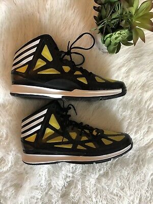the latest d9137 0d2a8 NEW Mens Adidas Crazy Shadow 2 Basketball Shoes, Yellow  Black, sz 18