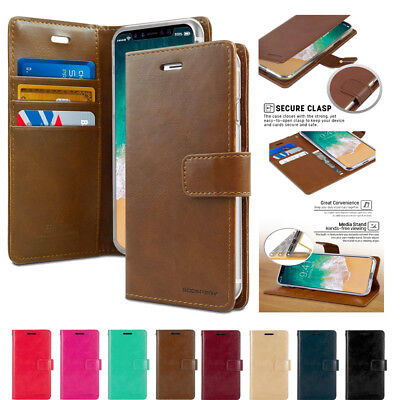 For Samsung Galaxy S10e S10+ S10 Mercury Goospery Flip Leather Wallet Case Cover