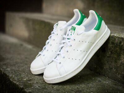 adidas Originals Stan Smith Casual Shoes Grade School White Green M20605  size 7 29df184dc