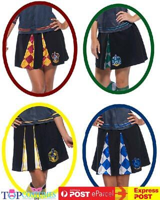 Licensed Adult Ladies Deluxe Skirt Harry Potter Cosplay Book Week Costume