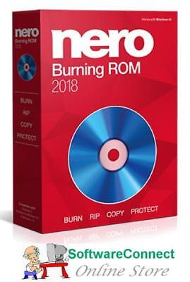 Nero 2018 Burning ROM | FULL VERSION! | NEW & SEALED BURN CD DVD AUDIO VIDEO