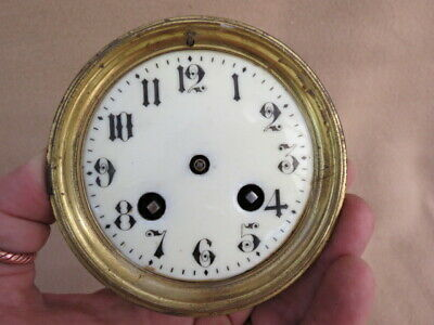 Antique Striking French Clock Movement For Spares Repair
