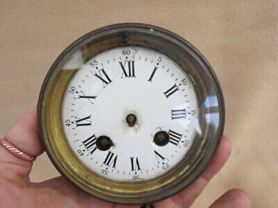 Antique French Striking Clock Movement For Spares Repair