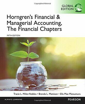 Horngren's Financial and Managerial Accounting, the Financial Chapters(ePub,PDF)