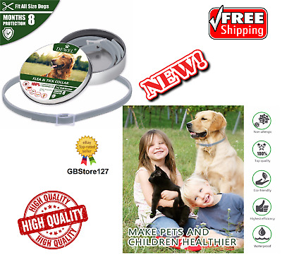 DEWEL™ PRO GUARD FLEA AND TICK COLLAR FOR DOGS PETS PROFESSIONAL - Free Shipping