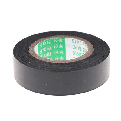Black PVC Electrical Wire Heat Resistant Vinyl Insulating Tape Roll 16mm*20m  ^F
