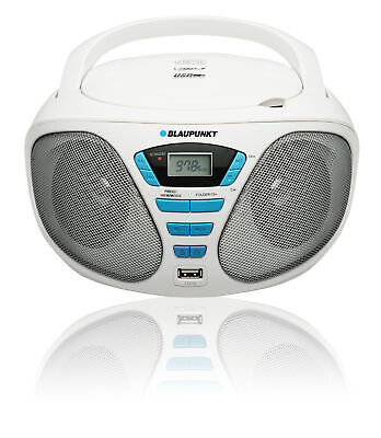 Blaupunkt BB5WH BB5 2.4 W White - Tuner 2x1.2W - CD/MP3/USB/AUX with PLL FM