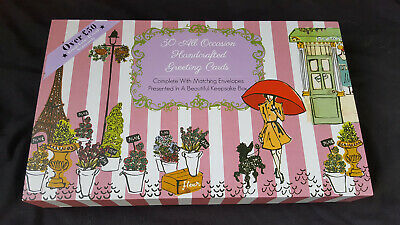 30 All Occassion Greetings Cards in presentation box with Envelopes