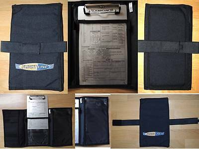 Piernografo de tela. TRIFOLD KNEEBOARD with Removable Clipboard piloto pilot