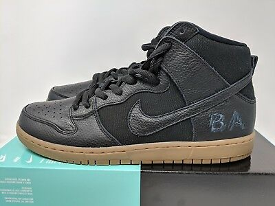 NIKE SB ZOOM Dunk High Pro QS Brian Anderson Anti Hero Gum AH9613 001 Size 13