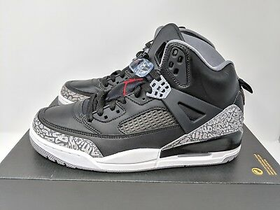 super popular 97eaa 9045f Nike Air Jordan Spizike OG Black Cement Grey White Red (315371-034) Sz
