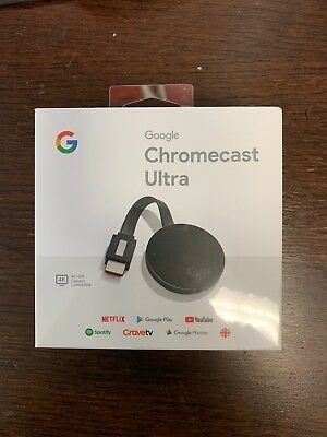 Google Chromecast Ultra Brand new in the box