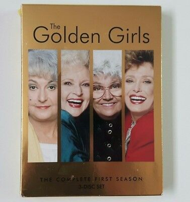 The Golden Girls The Complete First Season 1 One 3 DVD Disc Set