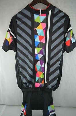 BONTRAGER MEN S XL Cycling Jersey ZIP Bib Shirt Bike TREK SRAM NEW ... 177cd288e