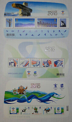 Canada 2010 Vancouver Olympic Limited Edition Souvenir Pack stamp sheet sealed