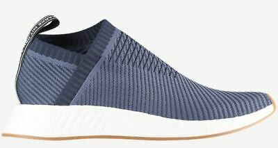 ebf6084d5ce8 NEW Adidas NMD CS2 PK Primeknit Shoes Navy D96741 BOOST mens sz 10.5  originals