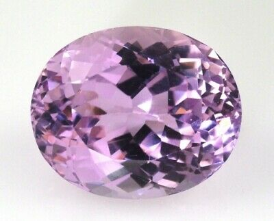 KUNZITE 9 x 7 MM OVAL CUT NATURAL AND UNTREATED (EB6)