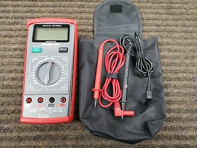 Snap-On Manual Ranging Digital Multimeter EEDM503D With Leads