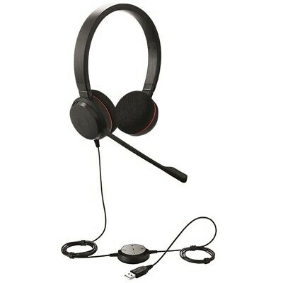 JABRA EVOLVE 20 - HSC016 - STEREO UC DUO HEADSET - USB Conncection