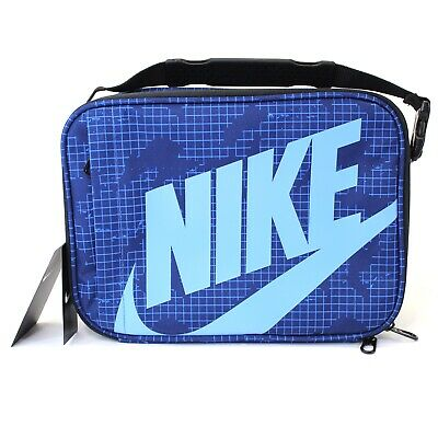 info for e68fc 96d2a NWT Nike Insulated Lunch Box Tote Bag Blue One Size Swoosh Logo 9A2744 MSRP   28