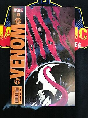 VENOM 11 2019 DAVE GIBBONS VARIANT NM WATCHMEN HOMAGE Marvel Comics First Print