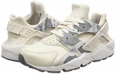 1d3b11a72739 Nike Women s Air Huarache Run PRM Running Shoes Phantom White 683818-015 NEW