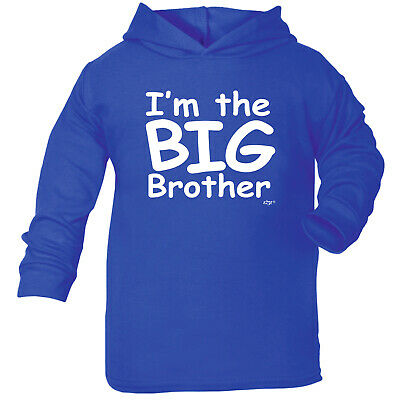 Funny Baby Infants Cotton Hoodie Hoody - Im The Big Brother