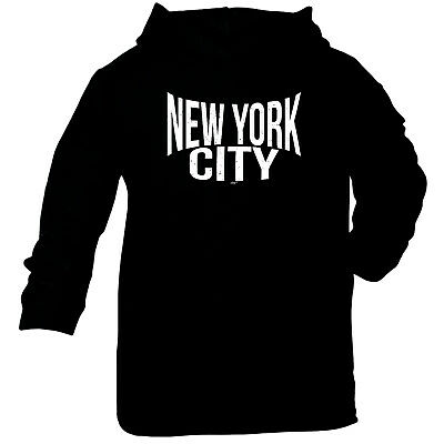 Funny Baby Infants Cotton Hoodie Hoody - New York City