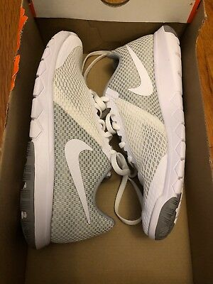 e32a14f13dc43 NEW WOMENS NIKE Flex Experience RN 6 Gray White Sneakers Size 8M ...