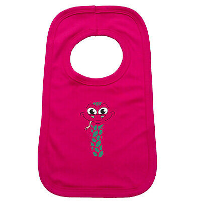 Funny Baby Infants Bib Napkin - Am Snake