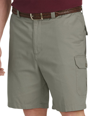 0be1047d6a Harbor Bay Continuous Comfort Waistband Men's Olive Cargo Shorts Size ...