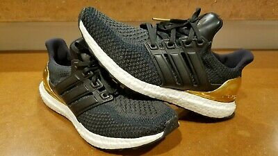 b75f20680 Adidas Ultra Boost LTD Olympic Medal Black Gold BB3929 Mens Size 9  Ultraboost