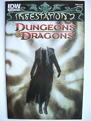 Infestation 2: Dungeons & Dragons # 1 (First Print, Cover A - Feb 2012), Nm
