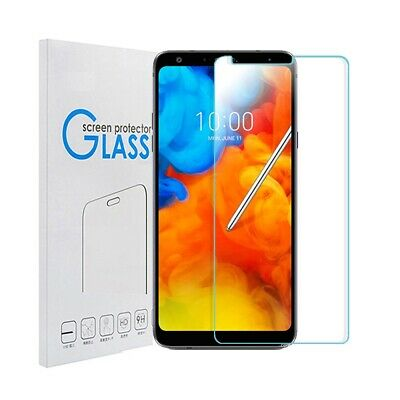 Tempered Glass Scratch Resist LCD Screen Protector Film Guard For LG Q Stylus