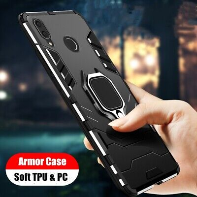 For Xiaomi Redmi Note 7 6 5 Pro 4X Magnetic Ring Stand Hybrid Armor Case Cover