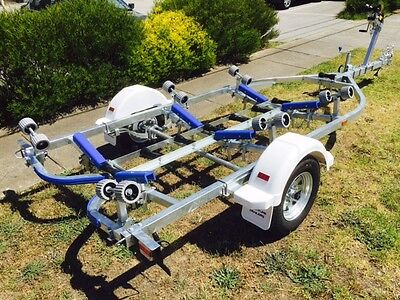 Precision Boat Trailer 5.2 mt suit 14-16 ft boats Gal Braked S520B SALE