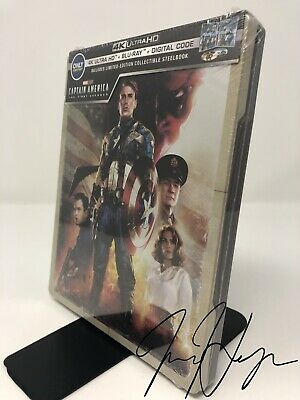 Captain America: The First Avenger SteelBook (4K Ultra HD + Blu-ray + Digital)