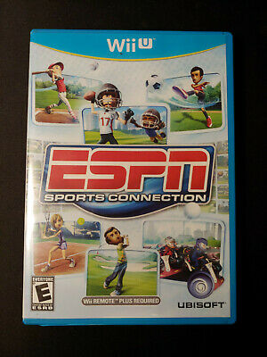 ESPN Sports Connection For Wii U Very Good complete