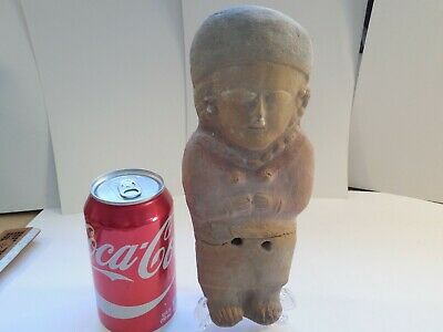 Big Bahia Ecuador Figure Pre-Columbian Antiquity Ancient Artifact Manabi Mayan
