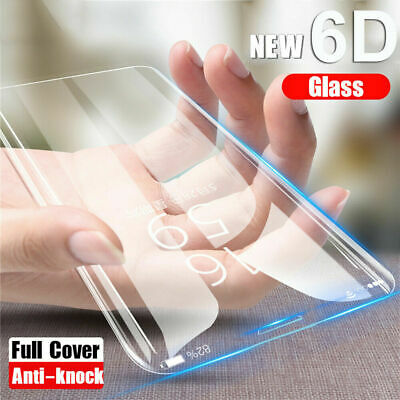 For Samsung Galaxy S10/S10 Plus 6D Curved Tempered Glass Screen Protector Film
