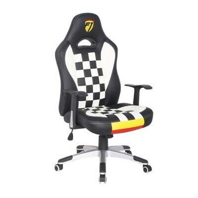F1 Formula 1 Sports Racing Gaming Office Computer Pu Leather Swivel Chair