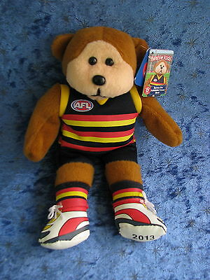 Beanie Kids Benno The Adelaide Crows Bear Afl Scott Thompson B&F Footy 2013 Gift