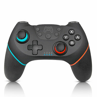 Black Wireless Pro Controller Gamepad Joypad Remote for Nintendo Switch Console
