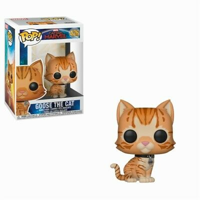 Funko Pop! Goose the Cat - Captain Marvel Figura 10cm - Producto Oficial