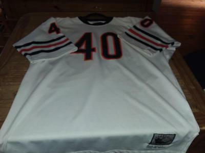 Chicago Bears 1969 Gale Sayers Mitchell   Ness Jersey w NFL 50th Patch RARE! b37a7bac2