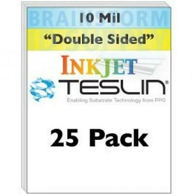 Inkjet Teslin Synthetic Paper - 25 Sheets