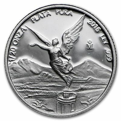 2015 1/20 oz Mexico Silver Libertad Coin (Proof) in Capsule