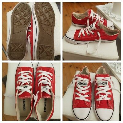 03cb6f38d6d1d °Baskets basses CONVERSE rouge Chuck Taylor All Star Ox W T40 neuves°PAS  PAYPAL